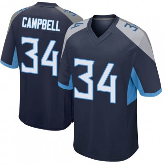 Youth Earl Campbell Navy Game Football Jersey